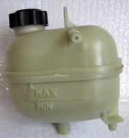 Mini Cooper S radiator expansion tank (screw on lid type) 'genuine' (17137529273) R50/52/53